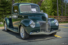 1941 Ford pickup (kenmojr) Tags: car auto automobile vehicle transportation classic antique vintage halifax jasnow funeral novascotia claytonpark maritimes maritimeprovinces atlantic atlanticprovinces canada easterncanada carshow june 2018 1941 ford pickup truck green