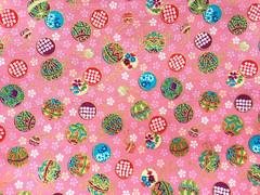 Japanese Fabric (kawaii_fabric_and_paper) Tags: fabric cottonfabric cotton cloth pink kawaii cute fromjapanwithlove etsy clothing