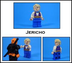 Jericho (-Metarix-) Tags: lego minifig custom super hero dc comics comic slade wilson jericho teen titan defiance joseph