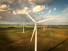 Storm Passing (eScapes Photo) Tags: carlock illinois windfarm windpower windturbines
