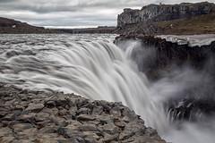 Plunge (Kirk Lougheed) Tags: dettifoss iceland icelandic jökulsááfjöllum norðurlandeystra basalt basaltic landscape outdoor river water waterfall