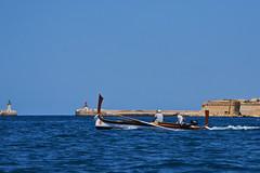 A Maltese Ferry (joemanganelli) Tags: malta ferry water city valletta boat