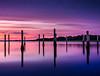 Marina Pylons, Oak Island, NC (JMGiolas) Tags: red oak island north carolina ocean oceanscape water wetlands waterscape landscape fuji fujifilm fujinon