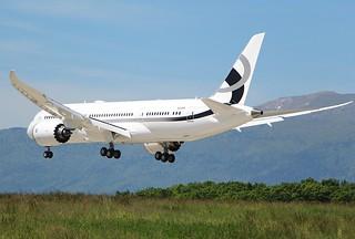 N28MS. Boeing 787-8 BBJ.