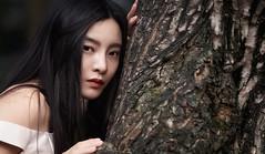 Tree (jsvamm) Tags: ifttt 500px shanghai tree girl portrait pretty chinese eyes hair lips sensual young beautiful beauty