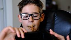 Man cannot live by bread alone; he must have peanut butter. (James A. Garfield) (tlinn1202) Tags: tomlinn peanutbutter bread
