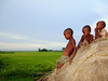 Images from Rural Bengal (pallab seth) Tags: landscape nature village kids children bengal india playing happy joy