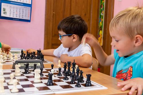 VIII Turniej Szachowy o Mistrzostwo Przedszkola Europejska Akademia Dziecka-16