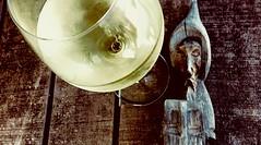 Yes yes! I know... (pastadimama) Tags: pray monk wine macro