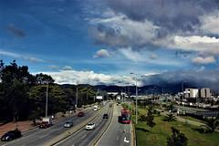 Bogotá (NataliaYinet) Tags: colombia bogota ciudad city car carros sky cielo c canon camara street calle green tree fotografìa photo photographer montañas sun luz azul blue sol paisaje pasion landscape nubes