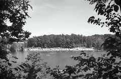 Lake view on film (John's Vintage Cameras) Tags: 1930s vintage analog welta triplet film foldingcamera 6x9 madeingermany rodenstock ilford minnesota