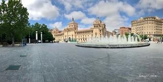 Plaza de Zorrilla, en Valladolid.