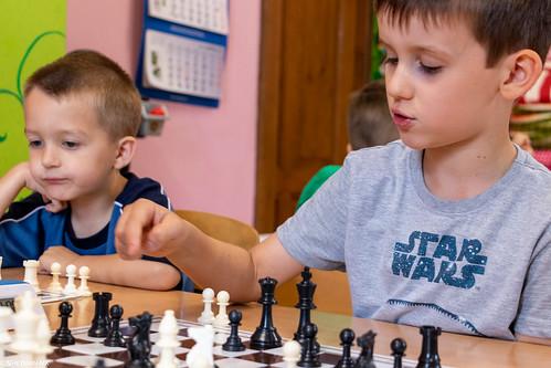 VIII Turniej Szachowy o Mistrzostwo Przedszkola Europejska Akademia Dziecka-15