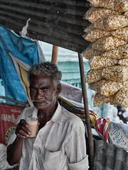 tKadai. (Prabhu B Doss) Tags: prabhubdoss portrait streetphotography street tea shop chai tamilnadu kanyakumari india incredibleindia popcorn fujifilm gfx50s gf3264mm