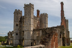 Titchfield Abbey ruins. (Meon Valley Photos.) Tags: titchfield abbey ruins ngc building sun clouds