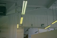 Lights (JacksonSwaby) Tags: structure sky city ceiling concrete construction light lights lamp leeds interior building industrial window windows wall brick bricks buildings architecture
