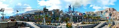 """Lestallum"" (The_Future_2049) Tags: final fantasy xv windows edition nvidia ansel lestallum screenshot panorama city town square enix luminous studios"