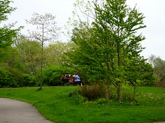 Let us see how many of us can sit on this bench (Trinimusic2008 -blessings) Tags: trinimusic2008 judymeikle nature hbm bench benches park spring may 2018 sunny trees grass outdoors toronto to ontario canada