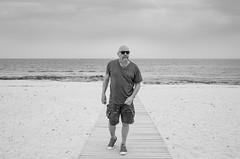 Cyprus April 2018. . . (CWhatPhotos) Tags: cwhatphotos beach walk sand cyprus bw man converse allstar shoes all stars chucks