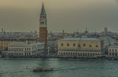 Venice (y.mihov, Big Thanks for more than a million views) Tags: venice venezia sonyalpha sightseeing sigma skyes 1224mm water wide italy islands boat ship buildings city tourist trespass town travel day winter tower top