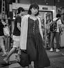 Lovely lady (Bill Morgan) Tags: fujifilm fuji xe3 18mm f2 bw jpeg acros lightroomclassic street kichijoji tokyo girl