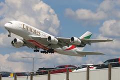 A6-EDK - LGW (B747GAL) Tags: emirates airbus a380861 lgw gatwick egkk a6edk