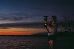 (dorine mathilde madeleine) Tags: sunset vintage postcart postcard france martigues marseille lake camera film shoot clip music