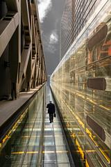 Urban Wanderer (ARTUS8) Tags: nikon28300mmf3556 digitallycomposed spiegelung flickr menschen linien modernearchitektur nikond800 lookingup personen person architecture