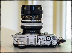 Pen-F + 50mm Canon (NoJuan) Tags: cameraporn cameraportrait canonfl 50mm macro canonflmacro penf olympuspenf lensadapter canonlensomm43 manualfocuslensonmicro43 lensporn vintagelensporn
