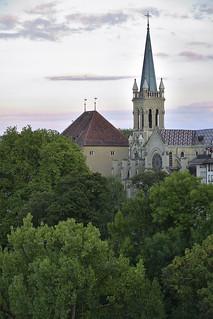 Bern. Kirche Sankt Peter und Paul