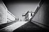 Valletta b&w street (freetimephoto) Tags: nikon d7100 35mm street bw black monochrome valletta triangles shadow lines