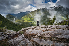 'Layer Upon Layer' - Vancouver Island (Gavin Hardcastle - Fototripper) Tags: mackenzie mountains vancouverisland mist clouds landscape alpine hero shot britishcolumbia
