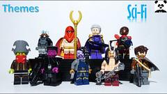 Sci-Fi Figbarf One (Random_Panda) Tags: lego figs fig figures figure minifigs minifig minifigures minifigure purist purists character characters scifi figbarf sci fi science fiction fantasy