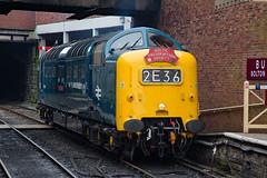 55009 Bury Bolton Street (daveymills37886) Tags: 55009 bury bolton street class 55 alycidon elr east lancashire railway