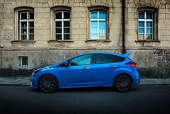 Blue power (mateusz.jedrak1) Tags: ford focus rs blue car sport