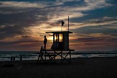 LifeGuard @ NewPort Beach California Sunset (bryanasmar) Tags: ngc fuji xf 1855 xh1 newport beach california sunset fujifilm lifeguard shack