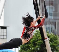 Flying Trapeze (John Neziol) Tags: jrneziolphotography portrait outdoor cirquedusoleil trapeze artist people girl woman nikon nikoncamera nikondslr nikond80 naturallight drama