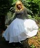 Summer Colour (Amber :-)) Tags: long while full skirt tgirl transvestite crossdressing