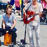 Afternoon music in Trafalgar Square. thumbnail