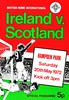 Scotland vs Ireland - 1972 (The Sky Strikers) Tags: miscellaneous scottish scotland international programme covers