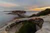 Sunset in La Perouse (RoamingSkies) Tags: sunset evening night water ocean sydney longexposure canon beach rocks bridge clouds colour