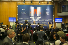 OECD Week 2018 - Closing press conference of the OECD Ministerial Council Meeting (Organisation for Economic Co-operation and Develop) Tags: oecd ocde forum 2018 week angel gurria secretary general paris france fra