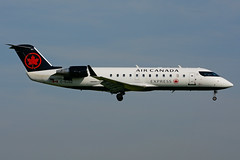 C-GJZZ (Air Canada express - JAZZ) (Steelhead 2010) Tags: aircanada aircanadaexpress jazz canadair bombardier crj crj200 yhm creg cgjzz