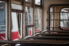 MTB 82 (ac.Zadam) Tags: trolley interior bus soviet oldtimer renovated details public transportation budapest hungary 2018 dof window seat light mood