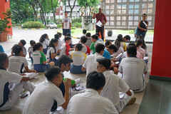 2018 Apr 23 Geographical Investigation at Gardens (BendemeerSecondary) Tags: gbtb gi gardensbythebay bendemeersecschool class geography humanities investigation outsideclassroomlesson sec4