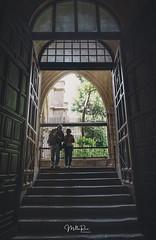 Please enter (mirri_inc) Tags: spain church cathedral toledo travel couple light door way enter stairs dark