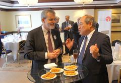 07-06-2018 Exclusive Luncheon with Secretary of State Pieter De Crem - DSC08916