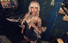 ► ŁΘΘҜ 570 ◄ (FashionGeekStyle) Tags: redmint 187 elise cosmopolitanevent 7deadlyskins maitreyalara catwacatyabento arabictattoos fashiongeekstyle lllalejandralll bloggersl secondlife pulse appliqueevent