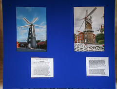Holgate Windmill exhibition, 'How Many Sails?' - panel 3 (nican45) Tags: 09062018 1020 1020mm 1020mmf456exdc 2018 9june2018 canon dslr eos70d hwps holgate holgatewindmill june sigma york yorkshire exhibition mill sail sails windmill
