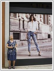 Fashion. Photographer (adam_pierz) Tags: fashion photographer verona lady street shop lumixlx5 panasonicg5